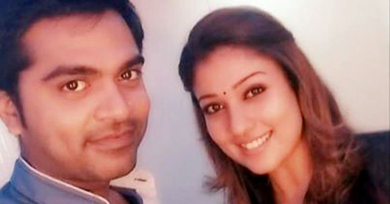 Simbu and Nayantara  (2)