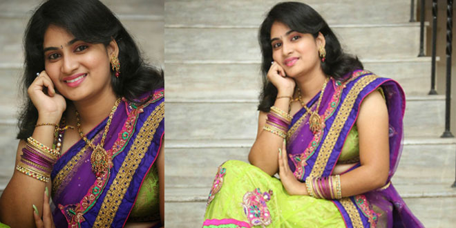 Krishnaveni Photos